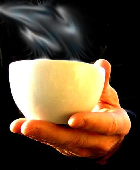 A CUP OF COMPASSION PLEASE