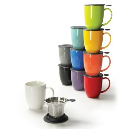 Uni Brew-In-Mug with Infuser & Lid - 16oz