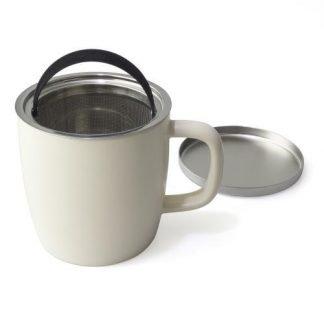 Dew Brew-in-Mug w/ infuser & lid ~ 11 oz
