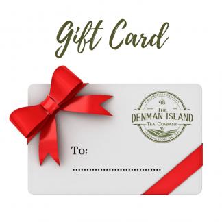 Denman Tea Gift Card